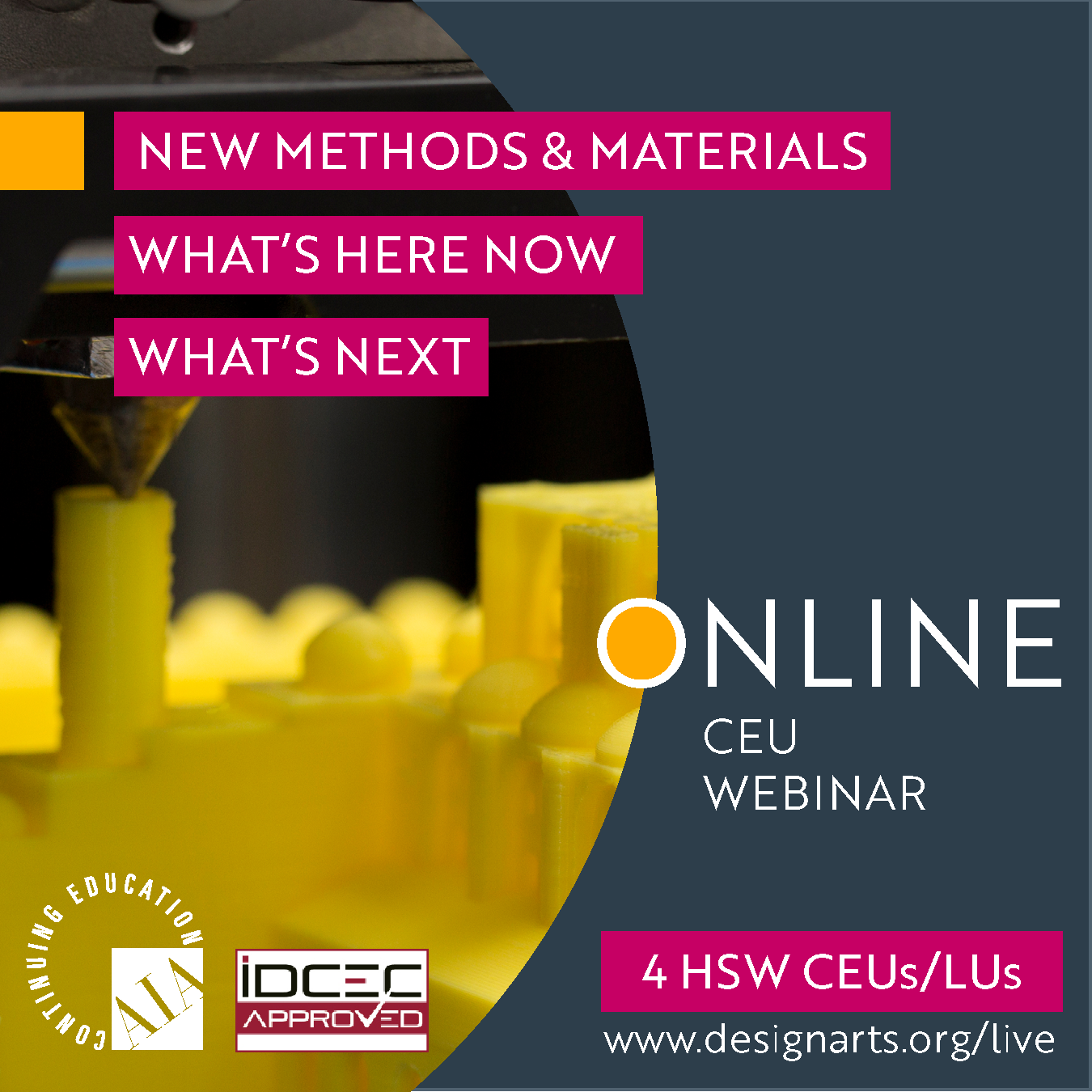 CEU: NEW MATERIALS & METHODS