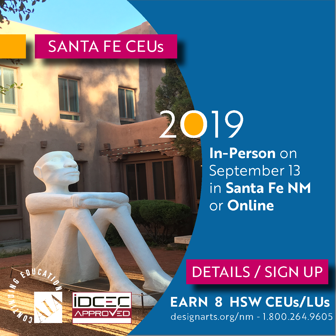 2019 Seminars Santa Fe NM