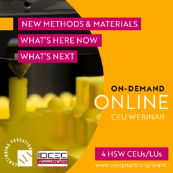 New Methods and Materials
