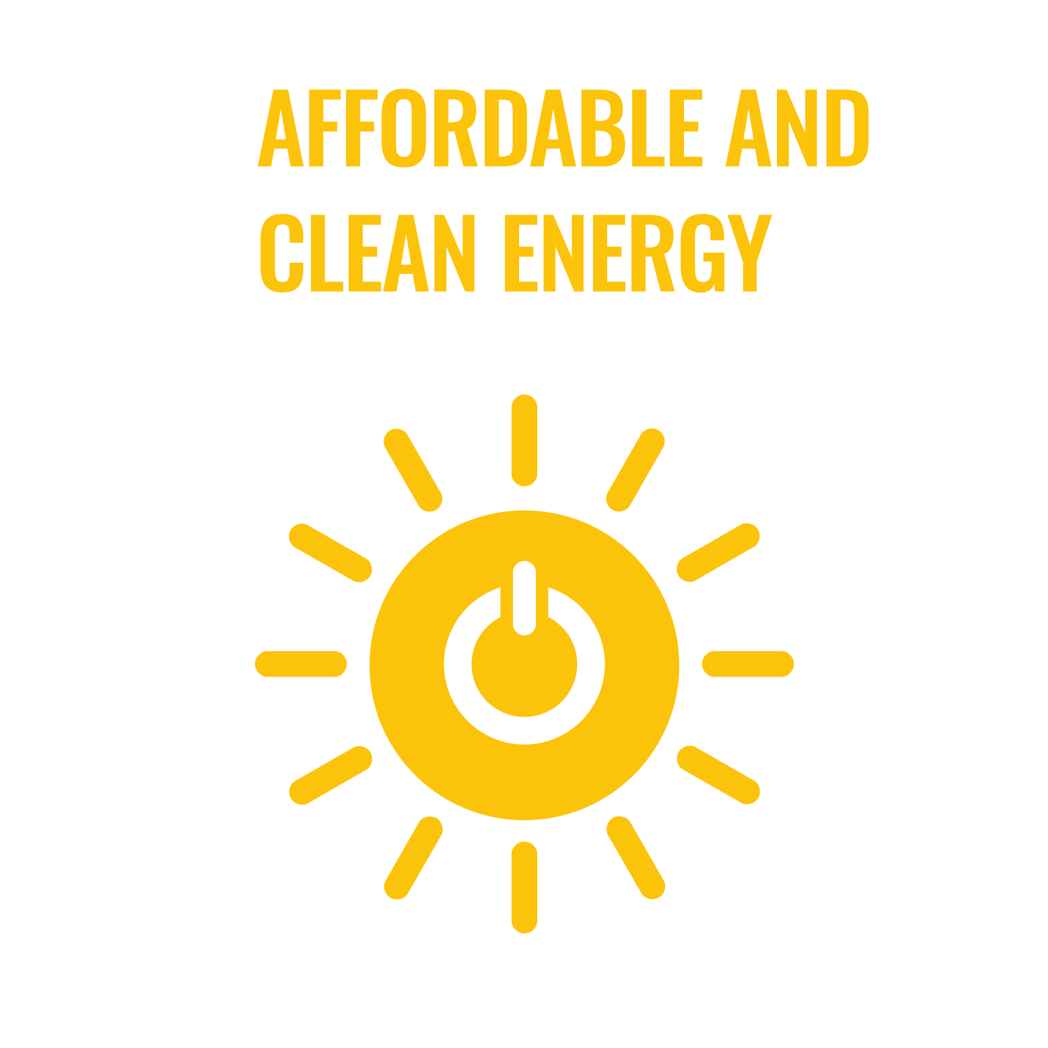 UN Goal 7 Affordable & Clean Energy