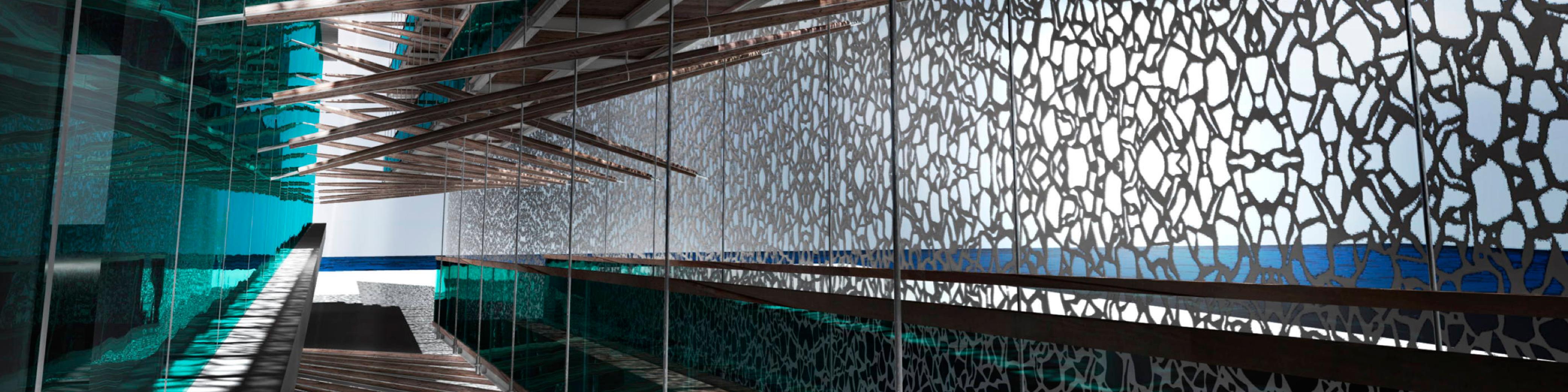 Concrete, Quartz, Glass, Terrazzo