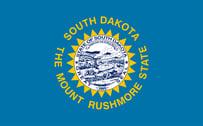 flag-South-Dakota-song-sun-legislation-designers-July-1-1992