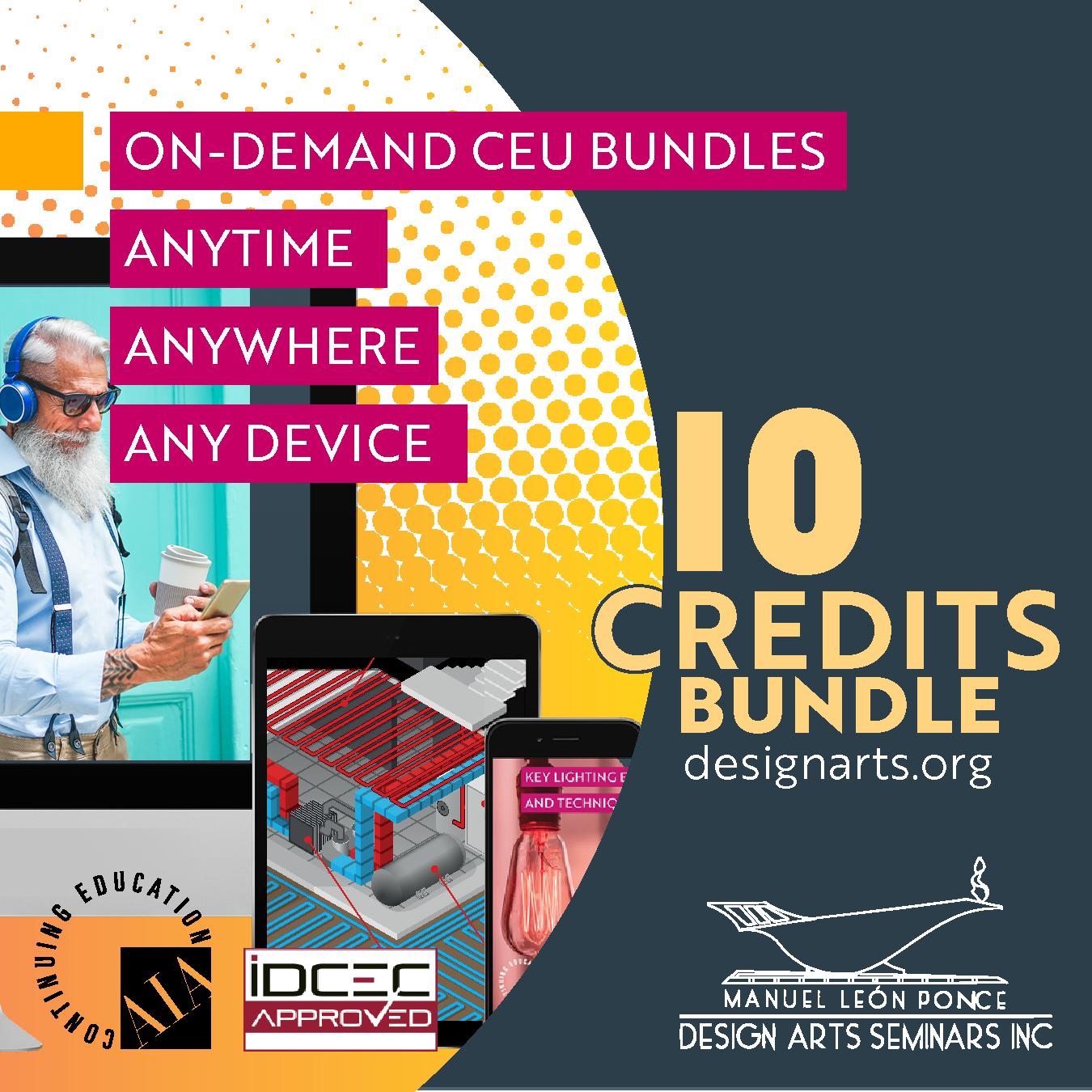 10-CREDIT ON-DEMAND WEBINAR BUNDLE
