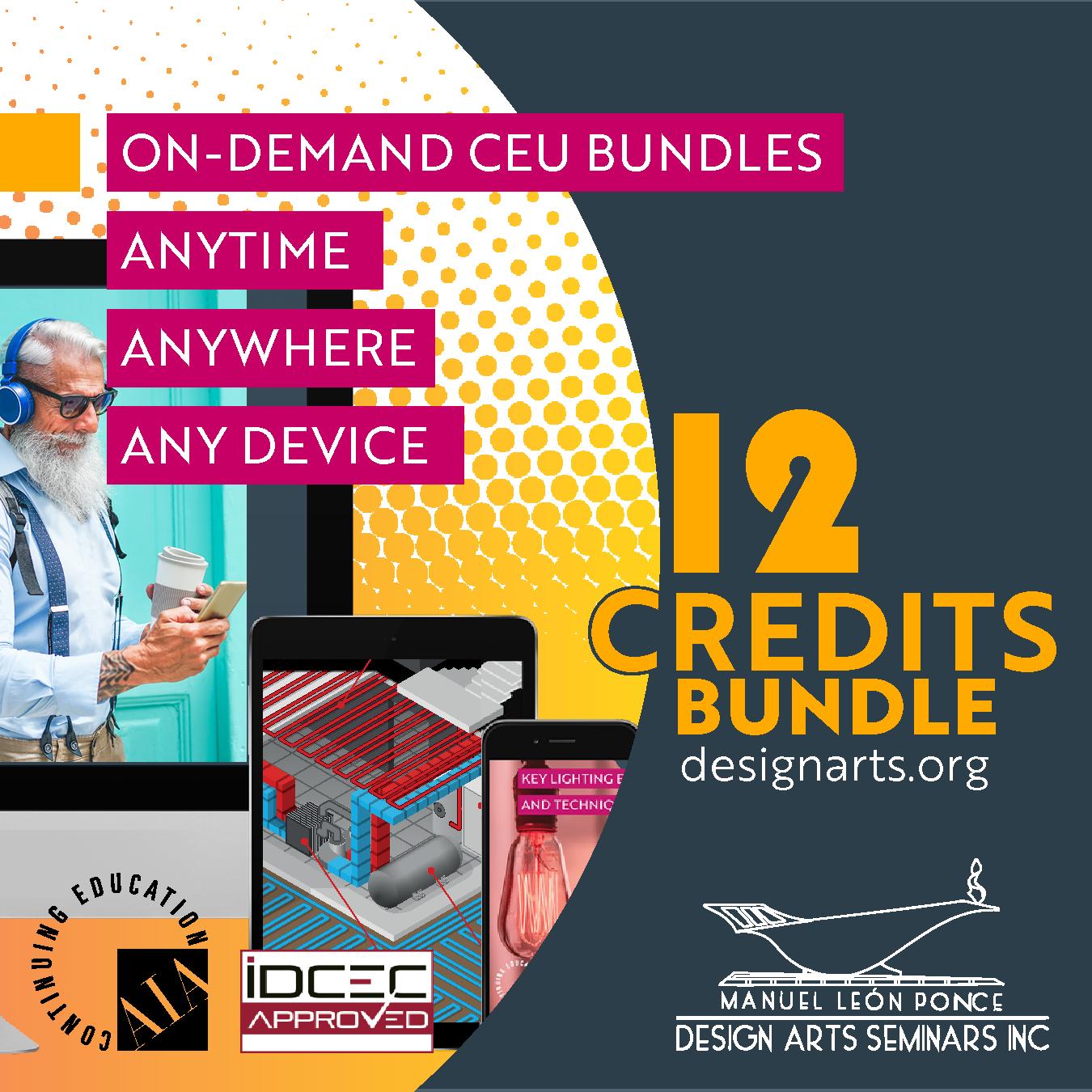 12-CREDIT ON-DEMAND WEBINAR BUNDLE
