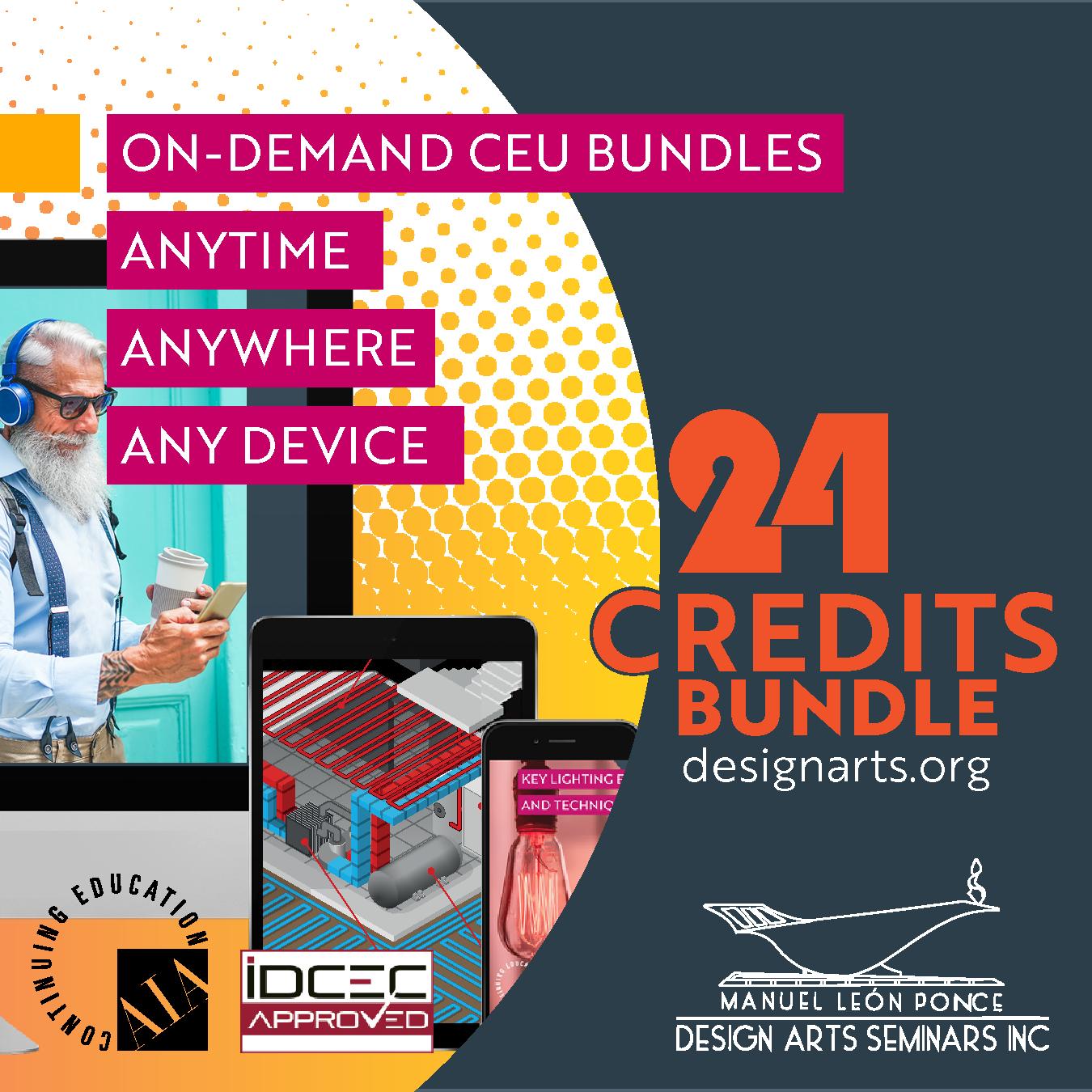 24-CREDIT ON-DEMAND WEBINAR BUNDLE