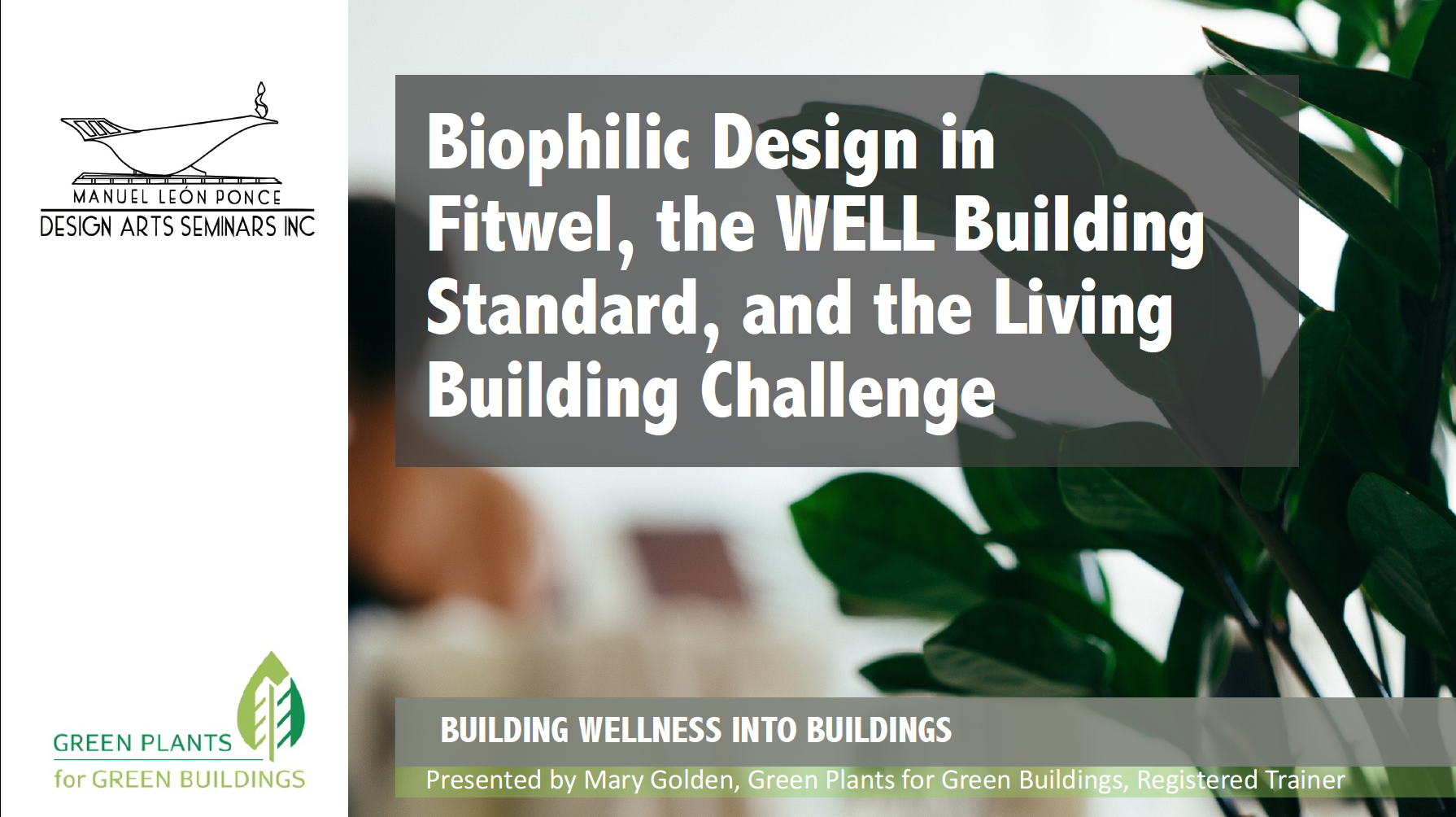 Building Wellness Into Buildings