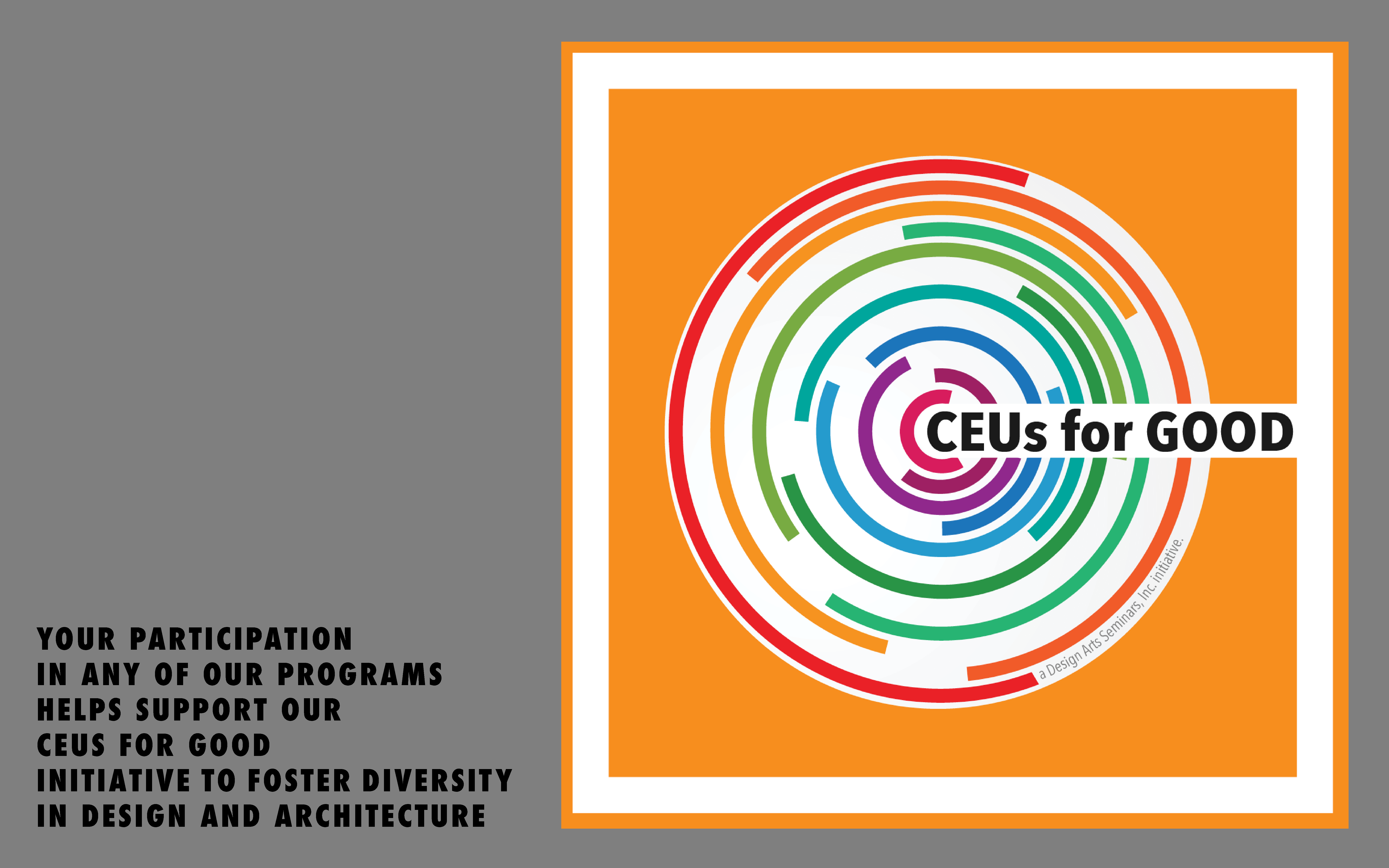 CEUs for Good Initiative